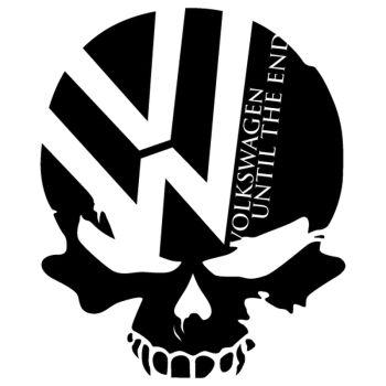Sticker JDM VW Volkswagen Until The End