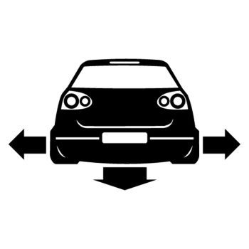 Sticker JDM VW Golf 5 Down and Out