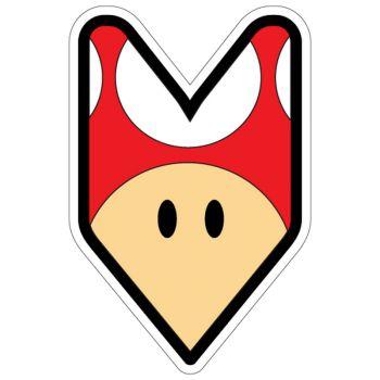 JDM Logo Mushroom Decal