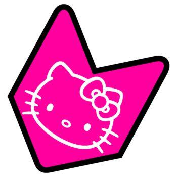 JDM logo Hello Kitty Decal