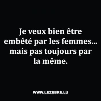 t shirt Humour Embêté par les Femmes