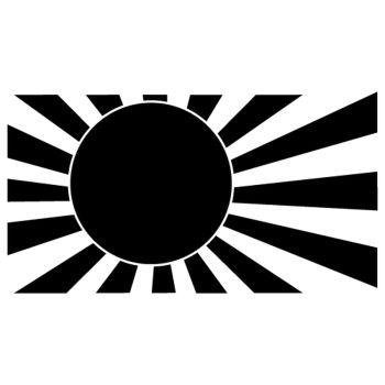 JDM Japanese flag Decal