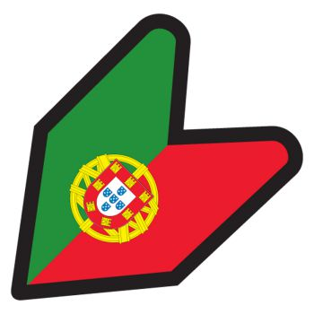JDM Portugal Flag Decal