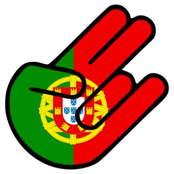 JDM The Shocker Portugal Decal
