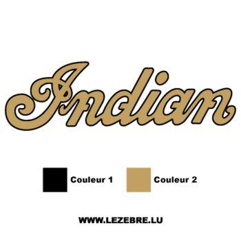 Indian logo Decal 4