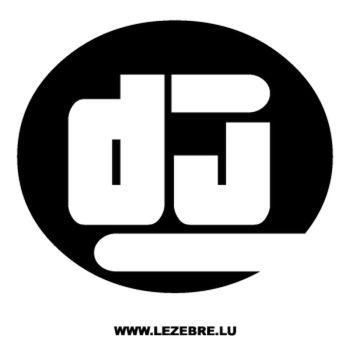 Sticker DJ 3