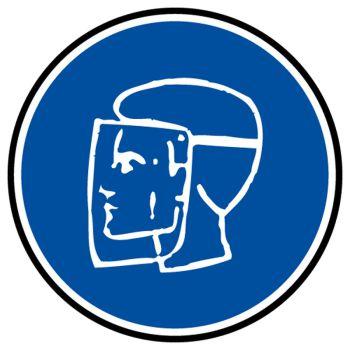 Sticker protection obligatoire visage