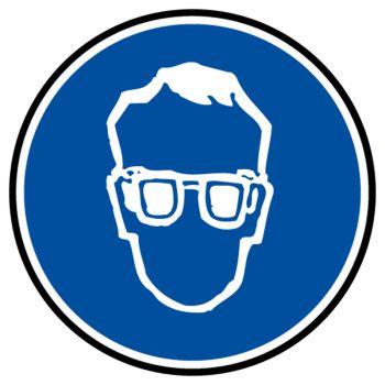 Sticker protection obligatoire voies vue