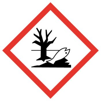 Decal hazardous materials for the environnement