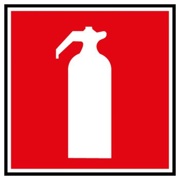 Decal extinguisher