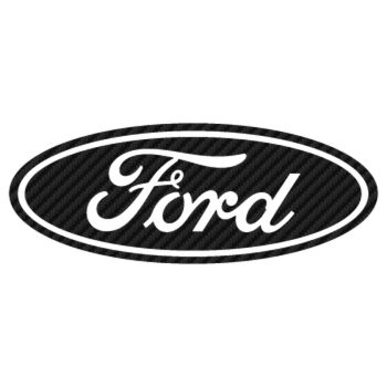 Ford Logo Carbon Decal