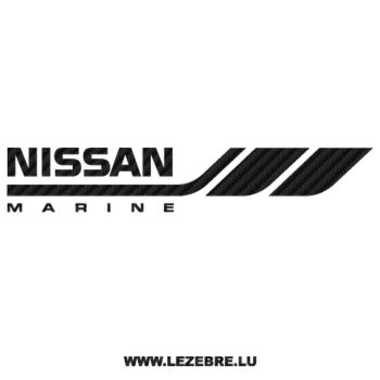 Nissan Marine Carbon Decal