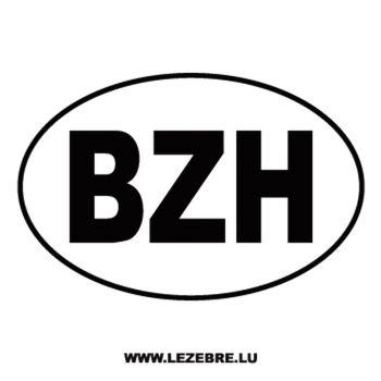 Autocollants BZH Logo