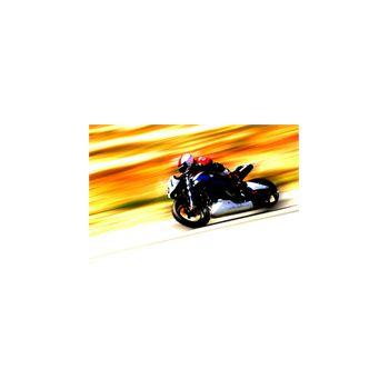 Sticker Déco Moto Course