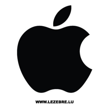Apple Logo Mac Decal