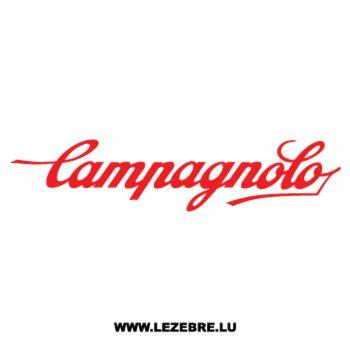 Sticker Campagnolo Logo