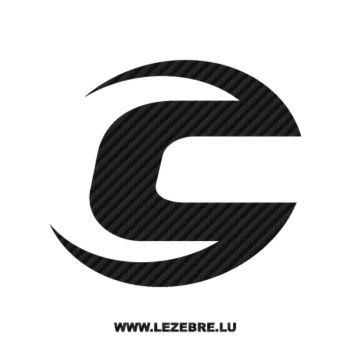 Cannondale Logo Carbon Decal 2