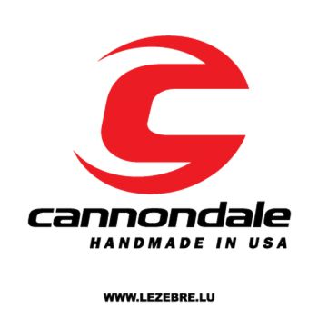 Cannondale USA Decal
