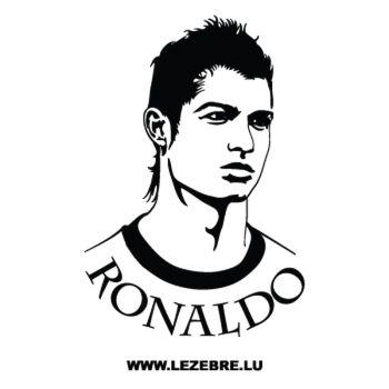 Sticker Deko Cristiano Ronaldo