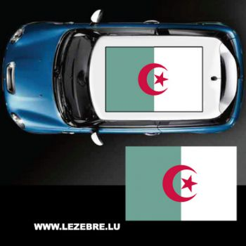 Algeria flag car roof sticker