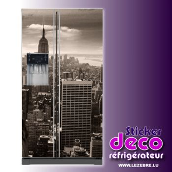 Stickers frigo New York