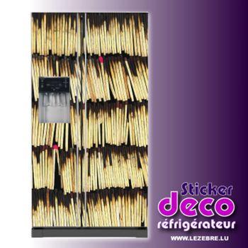 Matches Fridge Sticker