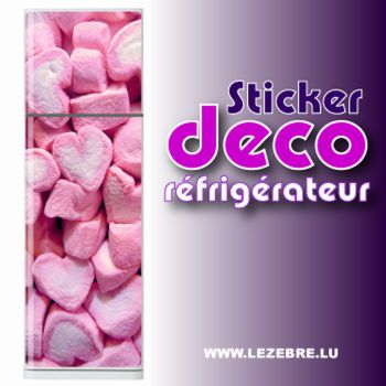 Stickers frigo Mashmallow