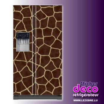 Kühlschrankaufkleber Giraffenhaut
