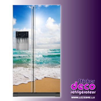 Kühlschrankaufkleber Strand