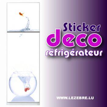 Kühlschrankaufkleber Rote Fische