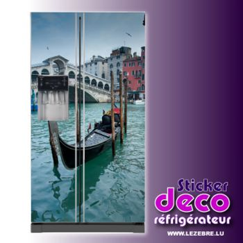 Stickers frigo Venise