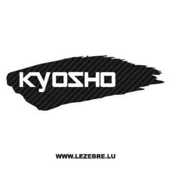 Kyosho Logo Carbon Decal