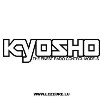 Kyosho Radio Control Models Decal