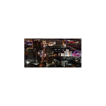 Sticker Las Vegas La Nuit