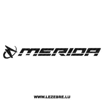 Merida Logo Carbon Decal