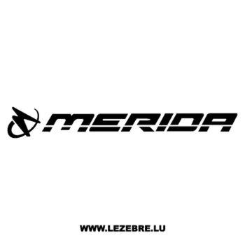> Sticker Merida Logo