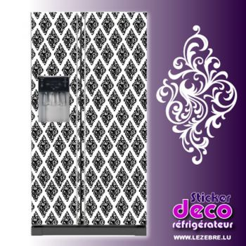 Stickers frigo Ornements