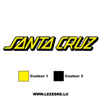 Santa Cruz Logo Decal 3
