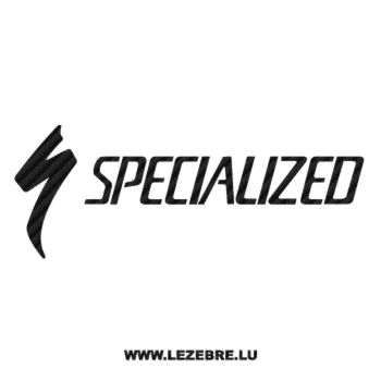 Sticker Carbone Specialized Logo velo