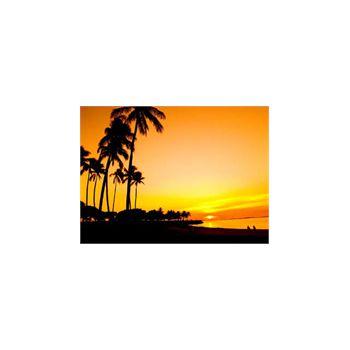 Sticker Waikiki Coucher de Sonne