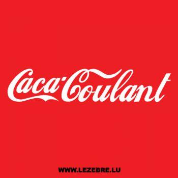 T-Shirt Caca-Coulant parody Coca-Cola
