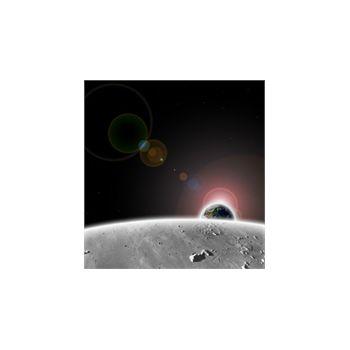 Sticker Déco Terre depuis la lune