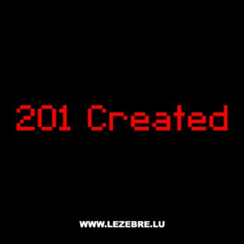 T-Shirt Geek 201 Created