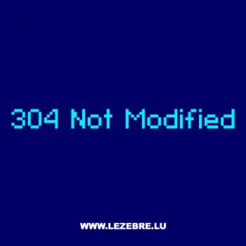 T-Shirt Geek 304 Not Modified