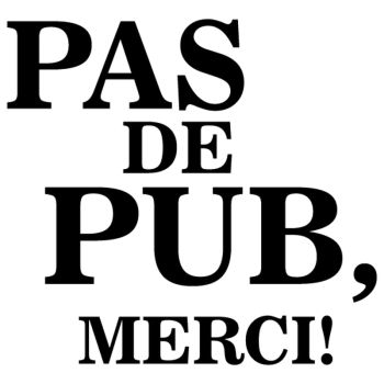 Pas de Pub, Merci ! Decal