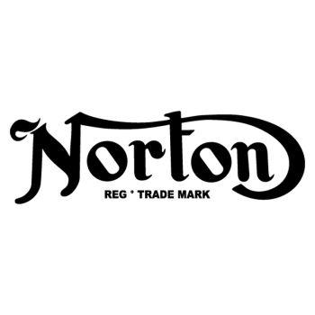Norton Classic 50-60's logo Decal