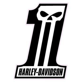 Harley Davidson Dark Custom Decal