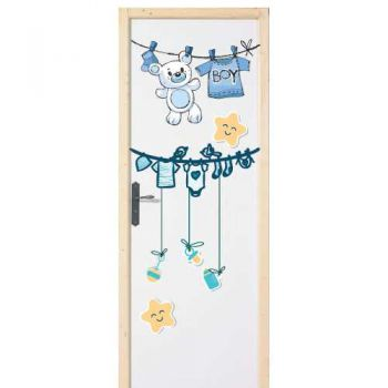 Baby Boy door decal