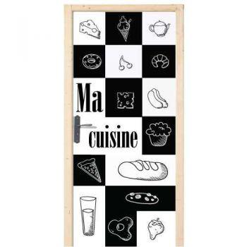 Sticker Déco Porte Ma Cuisine