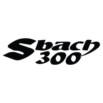 Lycoming Sbach 300 logo decorative Decal